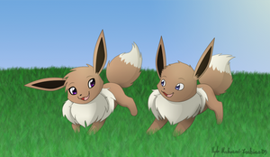 Taylin and Marcus' Eevees