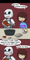Sugary, Non-Egg Substance