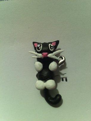 Gato en porcelanicron by kuronopen
