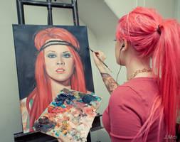 Kelly Eden's self portrait