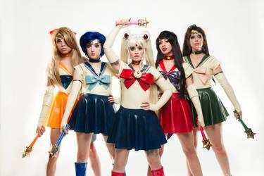 Sailor Scouts by KellyEden