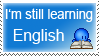 Learning English Stamp