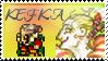 Kefka Palazzo Stamp by Fischy-Kari-chan