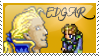 Edgar Figaro Stamp