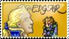 Edgar Figaro Stamp by Fischy-Kari-chan