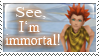 Lea is Immortal Stamp by Fischy-Kari-chan