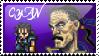 Cyan Garamonde Stamp