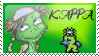 Kappa the Imp Stamp by Fischy-Kari-chan