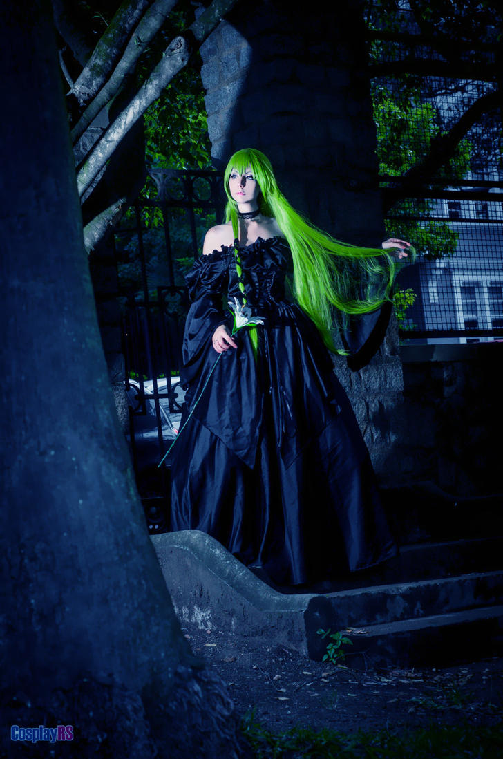 C.C Warlock Black Dress/ Code Geass by Ginkid