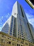 Empire State Building Under a Blue Sky by DadaKool