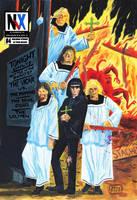 Nix Comics Quarterly No. 4 cover by MRNeno