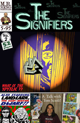 The Signifiers #2 alternate cover