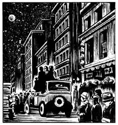 Sample panel from Michael Neno's Dream minicomic by MRNeno