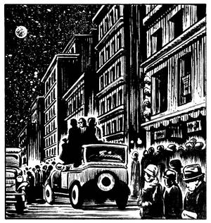 Sample panel from Michael Neno's Dream minicomic