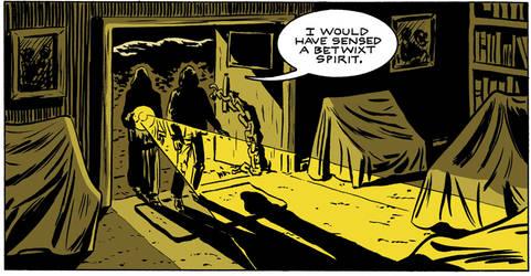 Color Sample from Nix Comics Quarterly #6
