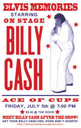 Billy Cash promo poster