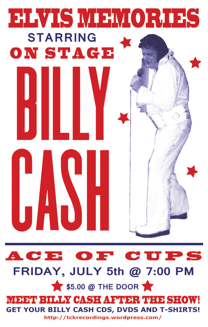 Billy Cash promo poster by MRNeno
