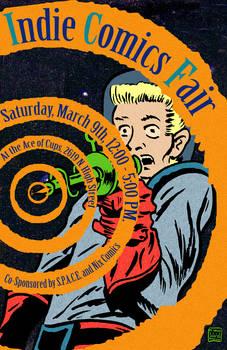 Indie Comics Fair 2013 Promo Poster