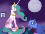 Bedtime story for a princess