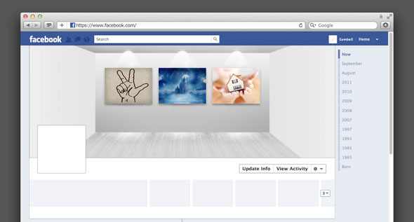 Room Facebook Timeline Cover by k0z3y