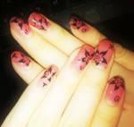 Nails for SMTown Paris 100611