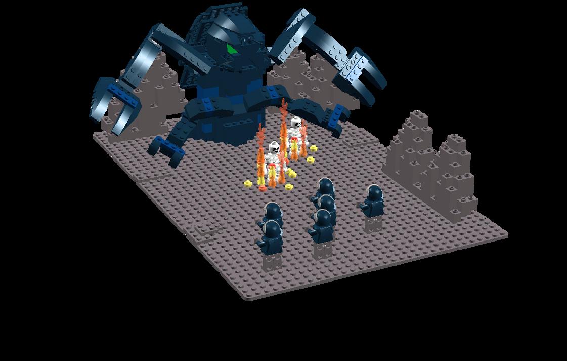 Tanker Bug vs. Troopers LEGOS