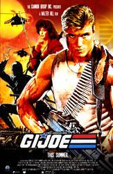 G.I.Joe: Retro 80's Movie Poster