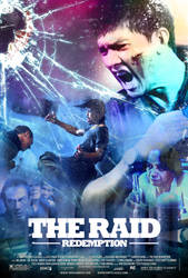 The Raid Redemption Fan Made Poster by NiteOwl94