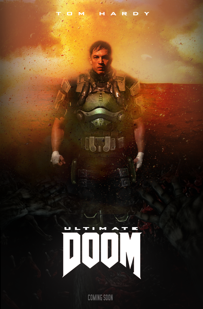 ''Ultimate Doom'' Movie Poster (fan Made) By NiteOwl94 On