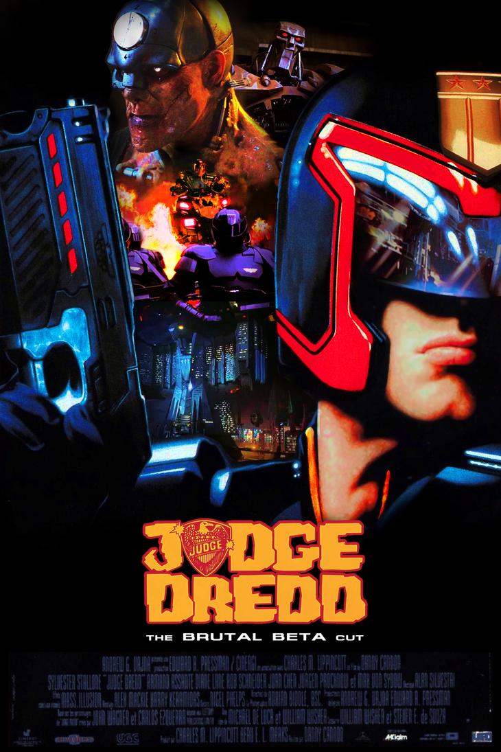 Judge Dredd: The Brutal Beta Cut poster by NiteOwl94