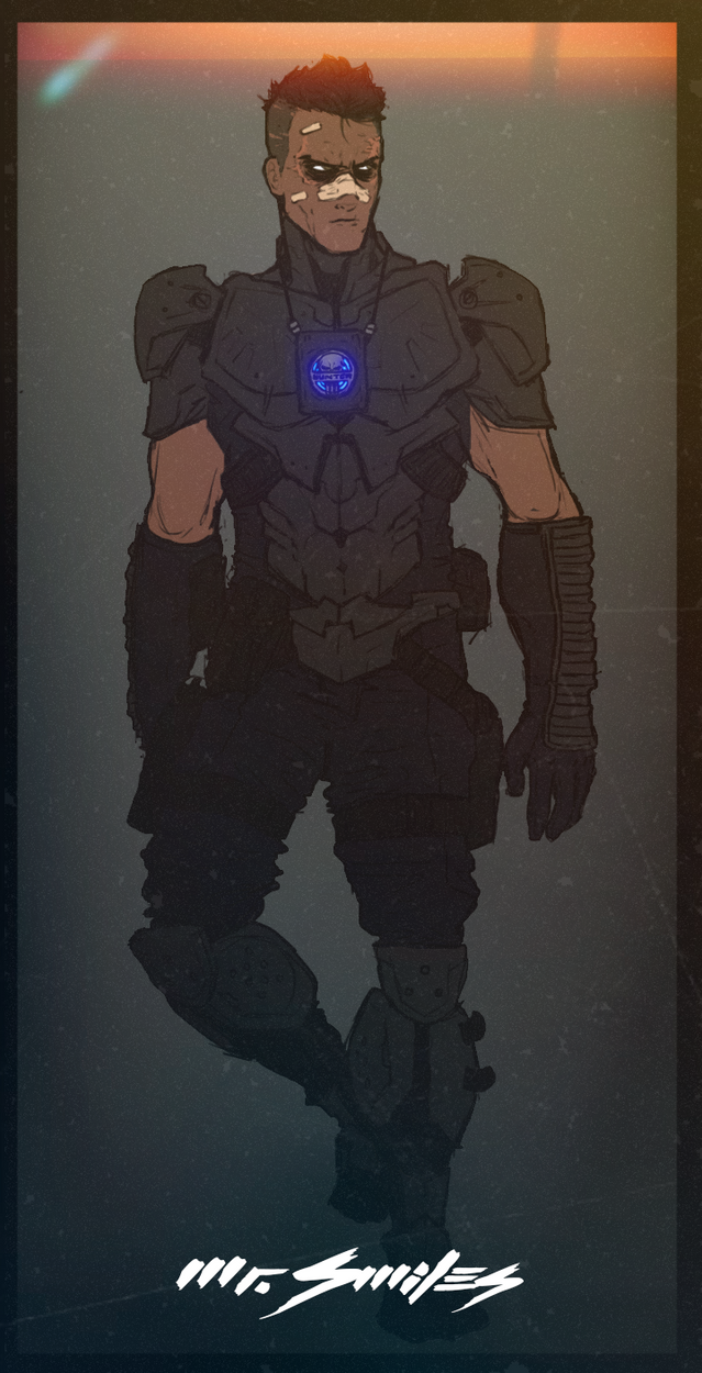 Mr.Smiles Armor Concept by NiteOwl94