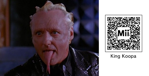 Super Mario Bros Movie King Koopa Mii Qr 3ds By