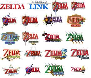 Zelda Logo Collage
