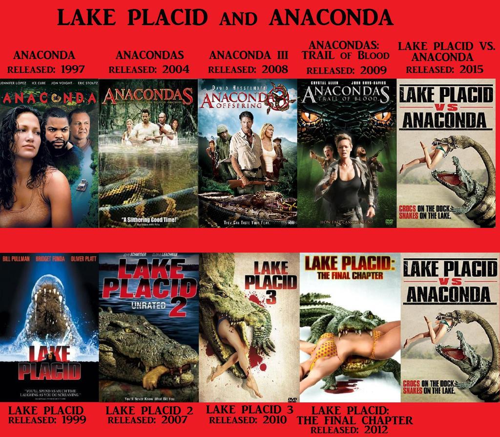 Anaconda Vs Lake Placid Full Movie anaconda and lake placid franchiseswildervillebull94 on