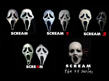 Scream Masks By Wildervillebull94 On Deviantart