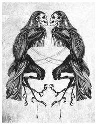 The three legged crow