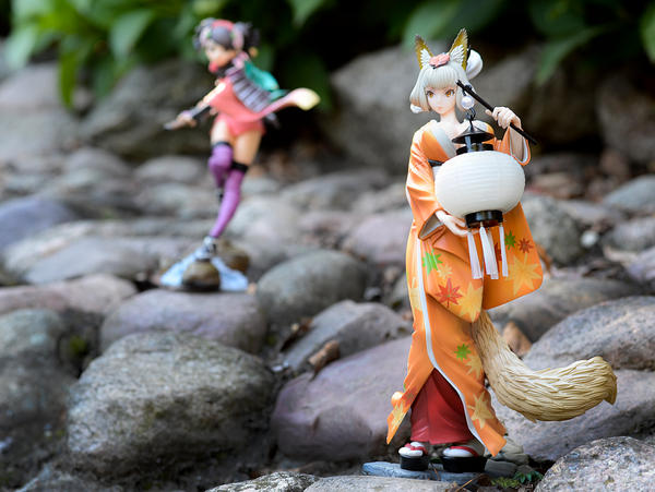 Muramasa - Kongiku with Momohime by dreamhunter707