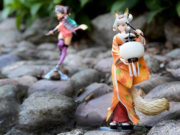 Muramasa - Kongiku with Momohime by dreamhunter707