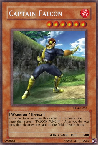 Yu-Gi-Oh Trading Cards-Falcon by marth2713