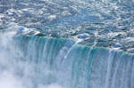 Niagara's Horseshoe Falls in Winter Garb 03