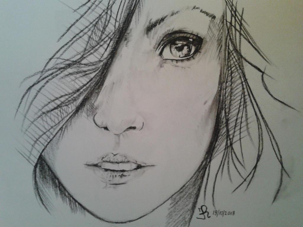 Http Mazaises Deviantart Com Art Girl Sketch 408176748
