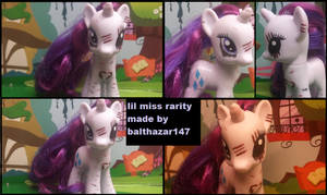 lil miss rarity brushable by balthazar147