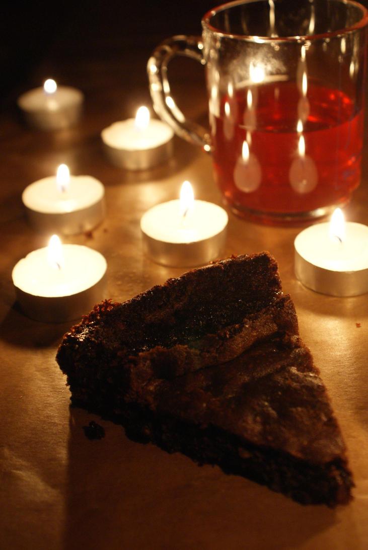 Wintery cake-cookie by xXNaemyXx