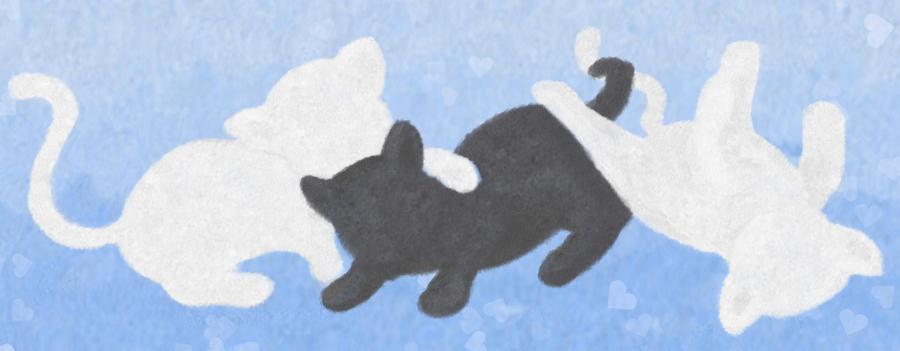 Os tres gatinhos by cricacj