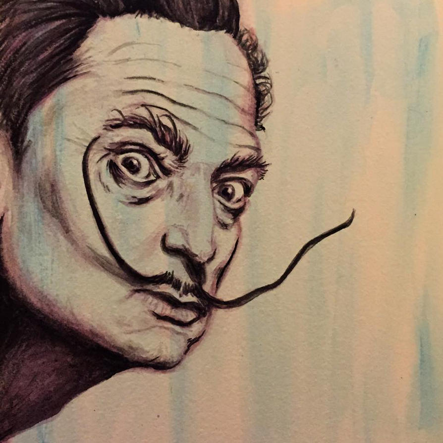 Dali Portrait by TheShadowQueen