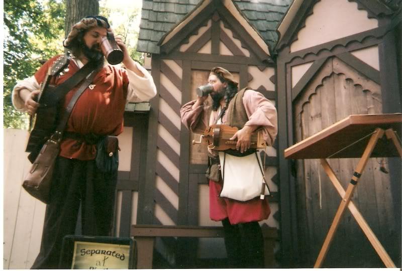 Musicians on break at Bristol Renaissance Fair by MystMoonstruck