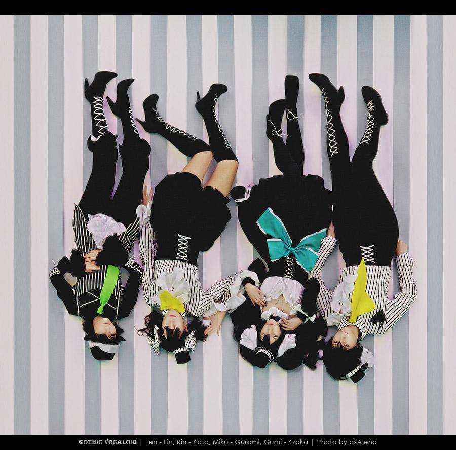 Gothic vocaloid _ art-band-SNN by Kzaka