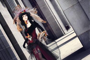 xxxHolic Yuuko cosplay_Following your wish by Kzaka