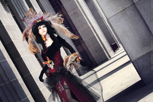 xxxHolic Yuuko cosplay_Following your wish