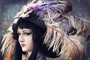 xxxHolic Yuuko cosplay_War of smile by Kzaka